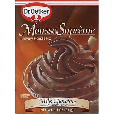 Mousse Suprm Milk Chocolate -Pack of 12