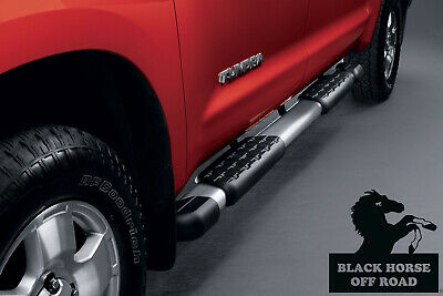 Black Horse Off Road 2007 2018 Toyota Tundra OEM Replica Factory Running Boards
