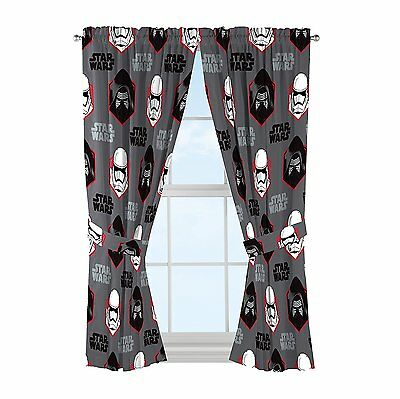 Star Wars Episode 7 Window Curtain Panels, Set of 2