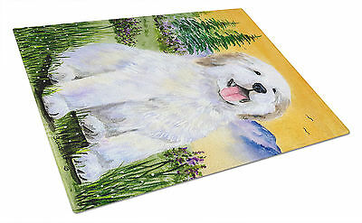 Carolines Treasures  SS8469LCB Great Pyrenees Glass Cutting Board Large