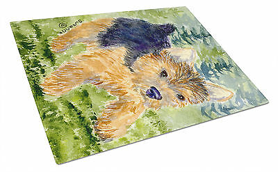 Carolines Treasures  SS8907LCB Norwich Terrier Glass Cutting Board Large