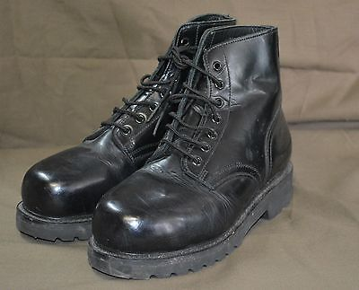 used canadian military parade boots size 7 1 2 255 100 steel toe