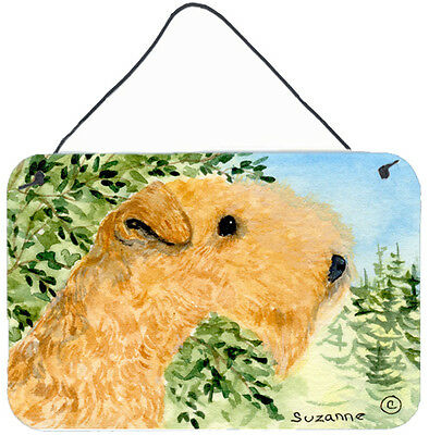 Lakeland Terrier Indoor Aluminium Metal Wall or Door Hanging Prints