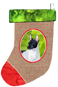 Carolines Treasures  SS2050-CS Rat Terrier Christmas Stocking SS2050