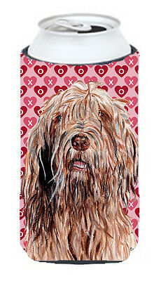 Otterhound Hearts and Love Tall Boy Beverage Insulator Hugger