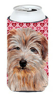 Norfolk Terrier Hearts and Love Tall Boy Beverage Insulator Hugger