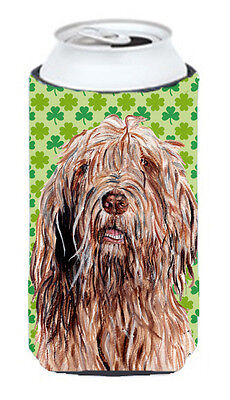 Otterhound Lucky Shamrock St. Patrick's Day Tall Boy Beverage Insulator Hugger