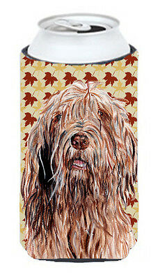 Otterhound Fall Leaves Tall Boy Beverage Insulator Hugger