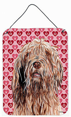 Otterhound Hearts and Love Wall or Door Hanging Prints