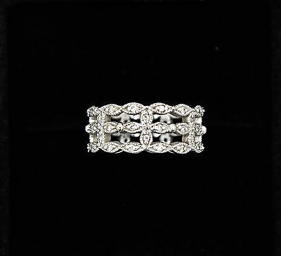 5495e82af Tiffany & Co. Diamond Infinity Ring in 18K White Gold 0.13 CTW.