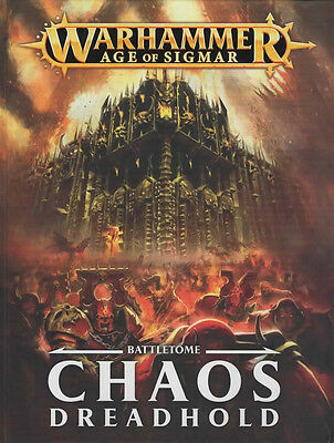 NEW Games Workshop Age of Sigmar Battletome Chaos Dreadhold