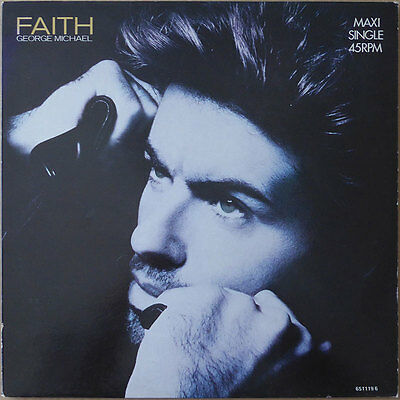 "12"" George Michael - Faith (1) - Europa 1987 -  VG++"