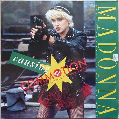 "12"" Madonna - Causing A Commotion - Eurpa 1987 -  VG++"