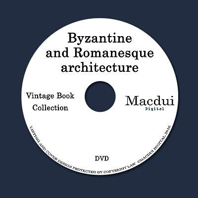 Byzantine and Romanesque architecture 2 PDF E-Books on 1 DVD German French