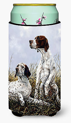 English Pointer by Michael Herring Tall Boy Beverage Insulator Hugger
