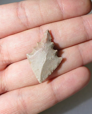 African Mesolithic Arrowhead points,  Lanceolate 6000 to 9000 BC # AR 111