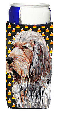 Otterhound Candy Corn Halloween Ultra Beverage Insulators for slim cans