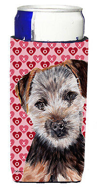 Norfolk Terrier Puppy Hearts and Love Ultra Beverage Insulators for slim cans