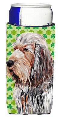 Otterhound Lucky Shamrock St. Patrick's Day Ultra Beverage Insulators for slim c