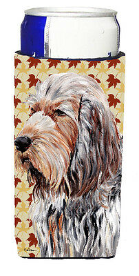 Otterhound Fall Leaves Ultra Beverage Insulators for slim cans
