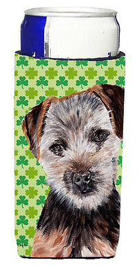 Norfolk Terrier Puppy Lucky Shamrock St. Patrick's Day Ultra Beverage Insulators
