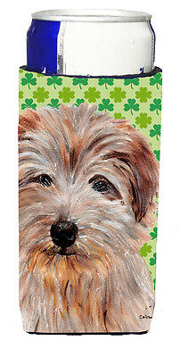 Norfolk Terrier Lucky Shamrock St. Patrick's Day Ultra Beverage Insulators for s