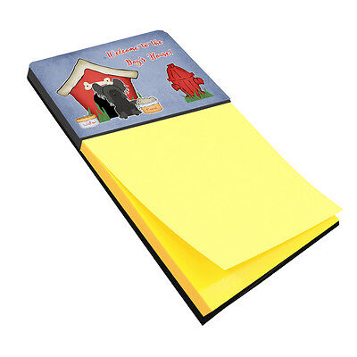 Dog House Collection Chinese Crested Black Sticky Note Holder