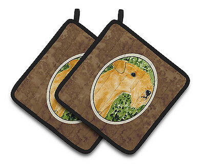 Carolines Treasures  SS8804PTHD Lakeland Terrier Pair of Pot Holders