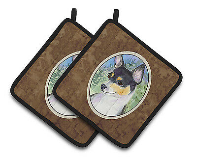 Carolines Treasures  SS8927PTHD Rat Terrier Pair of Pot Holders