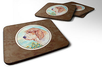 Set of 4 Petit Basset Griffon Vendeen PBGV Foam Coasters