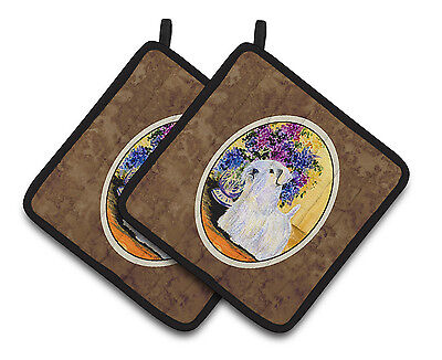 Carolines Treasures  SS8307PTHD Sealyham Terrier Pair of Pot Holders