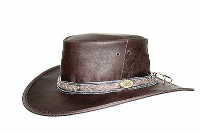 Kangaroo  Water repellant Soft leather   Packer hat Top seller