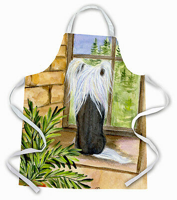 Carolines Treasures  SS8121APRON Chinese Crested Apron