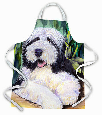 Carolines Treasures  SS1038APRON Bearded Collie Apron
