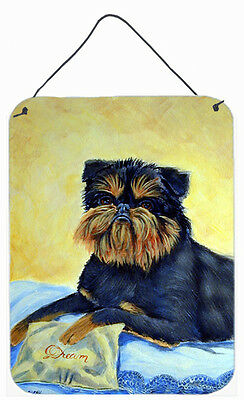 Brussels Griffon Aluminium Metal Wall or Door Hanging Prints