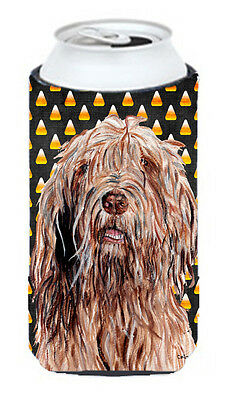 Otterhound Candy Corn Halloween Tall Boy Beverage Insulator Hugger