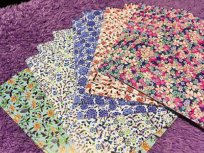 100pcs Origami Color Paper Crafts Sheets Japanese Style Sakura Beautiful Flower