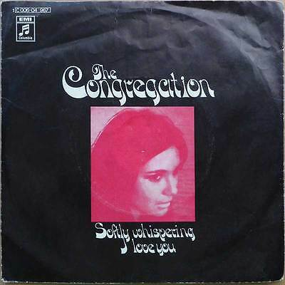 The Congregation - Softly Whispering I Lov - DE 1972 - VG++