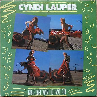 Cyndi Lauper - Girls Just Want To Have Fun - Holland 1983 - VG+(+)