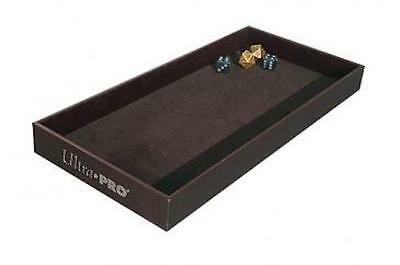 "Ultra Pro Dice Rolling Tray - Premium Velvet Lined Dice Rolling Tray - 1"" Tall"