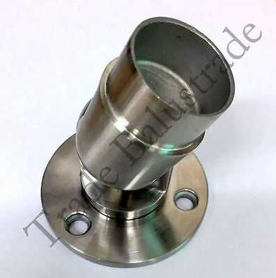 Quality Stainless Steel Adjustable Wall Flange for 42.4mm 2mm thk Tube