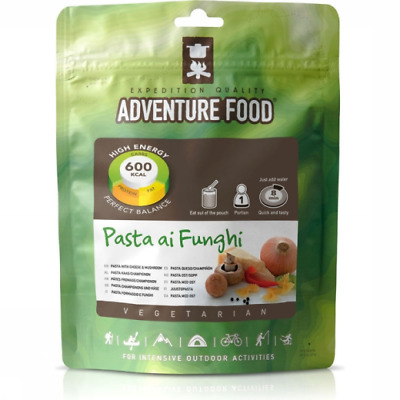 Adventure Food Ready To Eat Dry Meal...Pasta Al Funghi