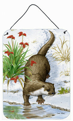 Otter by the Water Wall or Door Hanging Prints