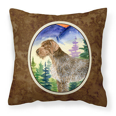 Carolines Treasures  SS8226PW1414 German Wirehaired Pointer Decorative   Canvas