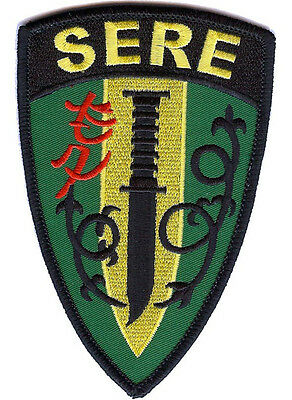 Embroidered SERE School Patch - NEW