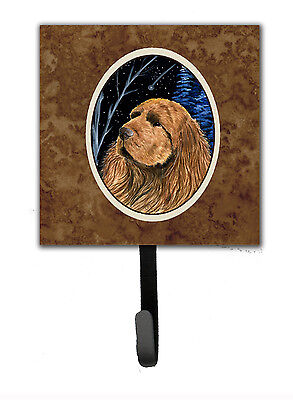 Carolines Treasures  SS8391SH4 Starry Night Sussex Spaniel Leash Holder or Key H