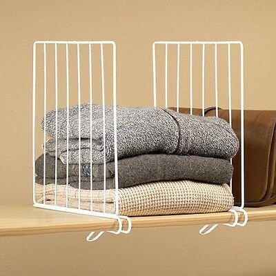 Wire Shelving Dividers | Wire Shelf Dividers For Metal Wire Closet Shelves Organizer