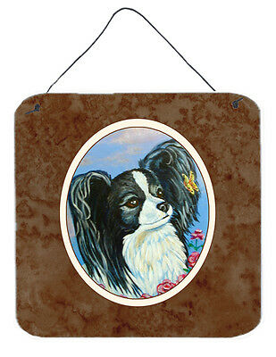 Black and White Papillon Wall or Door Hanging Prints