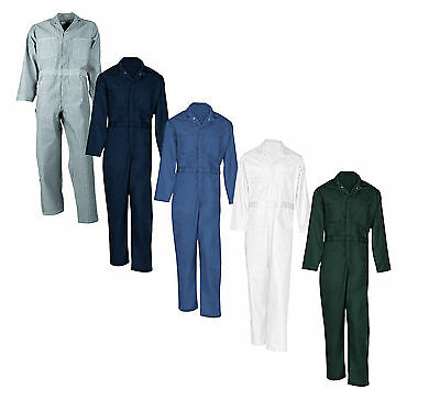 Universal Overall Men's Button-Front 100% Cotton Work Uniform Coverall Irregular