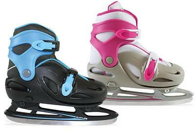 POWERSLIDE Ice Skates extendable junior CYCLONE fuchsia gray 880088 child